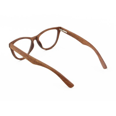 americas best eyeglasses, red sandalwood layered wood, lens can be changed to prescription lens,Wayfarer