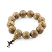 round wood bracelet beads
