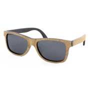 cork wood sunglasses, full rim frame, cork, wayfarer, Wayfarer, casual