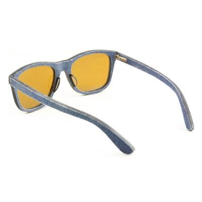 Wooden Wayfarers Sunglasses, Wayfarer, Blue, Joan