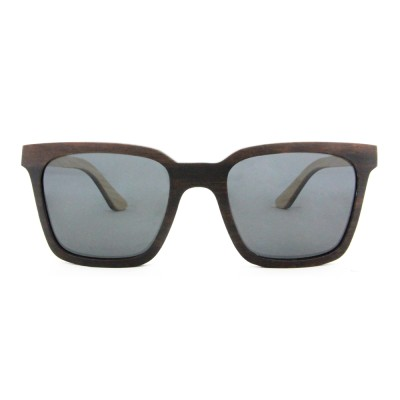 Wooden Sunglasses Amazon, Ebony Wood, Black, Wayfarer, Men's