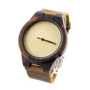 Australian Made Watches, Zebra Wood, All Nature Wood Strap, Metal Scale