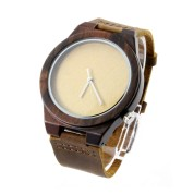 Cool Men Watch, Zebra Wood, All Nature Wood Strap, Metal Scale