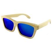 Polarized Sunglasses Fishing, Black Bamboo, Rectangle