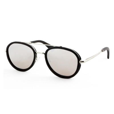 Wholesale Designer Sunglasses, Ebony  Full Rim Frame Aviator