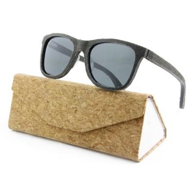Sunglasses Men New, Joan Wood, Black, Wayfarer, Men's