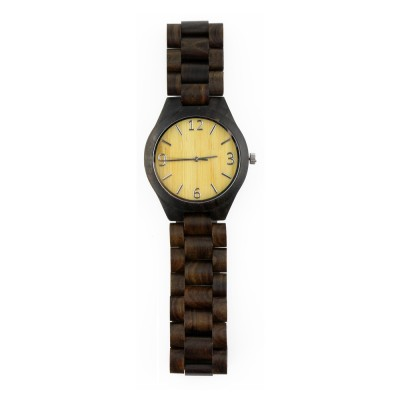 Cheap Unique Watches, zebra wood, all nature wood strap, metal scale