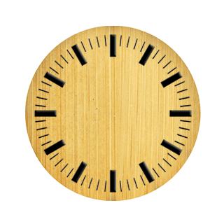 Carbonized bamboo dial D3