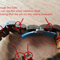 How to Remove Links From Wood Watch Wood Strap