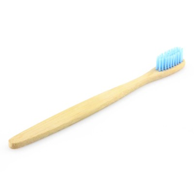 Straight handle bamboo toothbrush uk