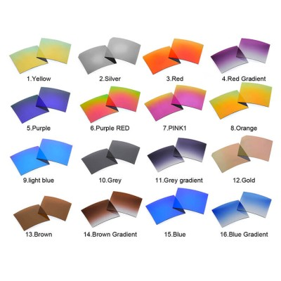 polarized sunglasses lenses colors