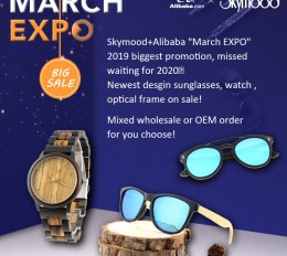 "Skymood+Alibaba ""March EXPO"" 2019 biggest promotion"