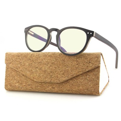 5 IN 1 Clip On Wood Sunglasses Magnetic