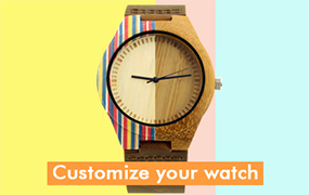 DIY wood watch