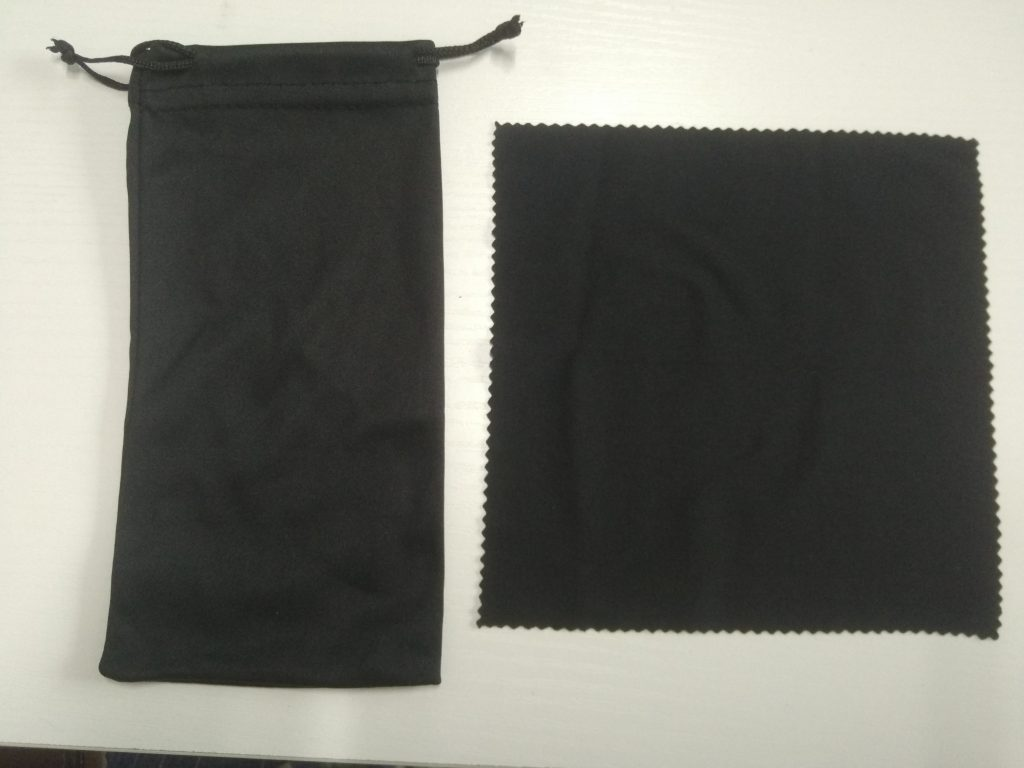 how to clean wood sunglasses bag and cloth