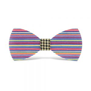 wood bow ties