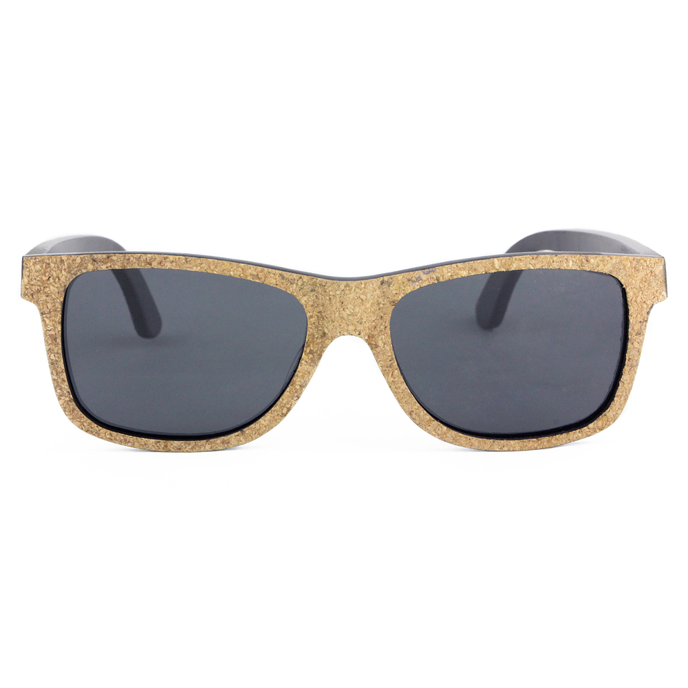 cork wood sunglasses with different kinds of colors and styles
