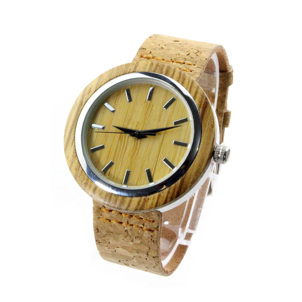 original wooden watch cork strap with skateboard wood case. Black Bedroom Furniture Sets. Home Design Ideas