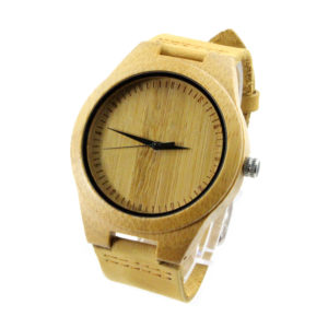 bamboo and no number big dial australian watches side view picture