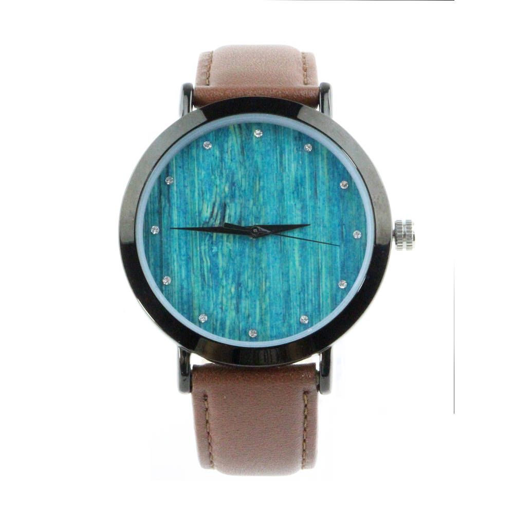 suppliers watches men custom manufacturers logo black wooden diy watch wood for