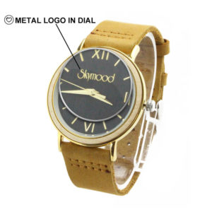 custom logo watch no minimum