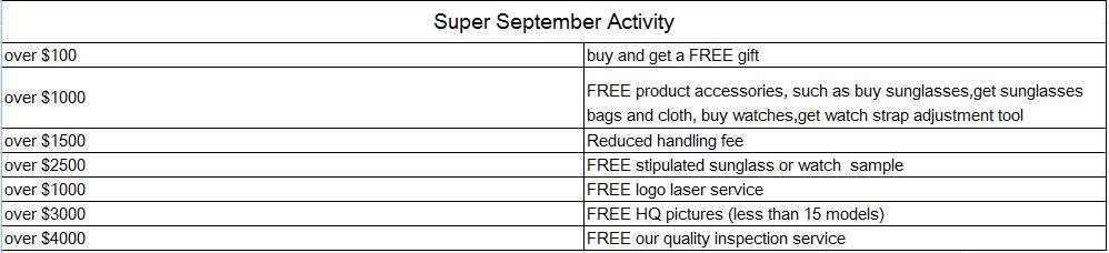 Super September Activity
