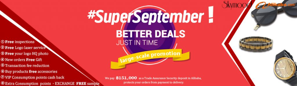 #superseptember wood sunglasses wood watch discount (2) (1)