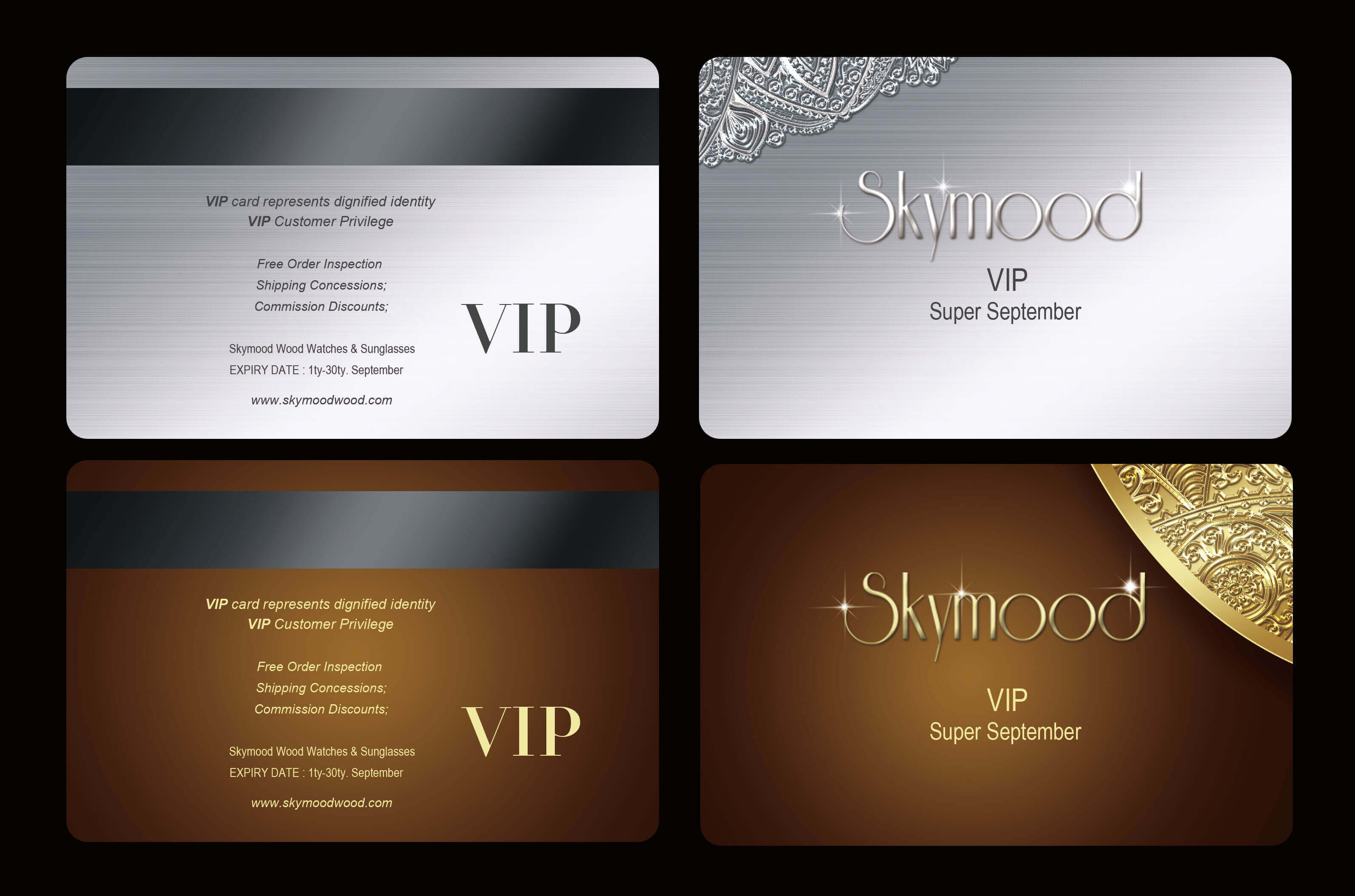 vip customer card
