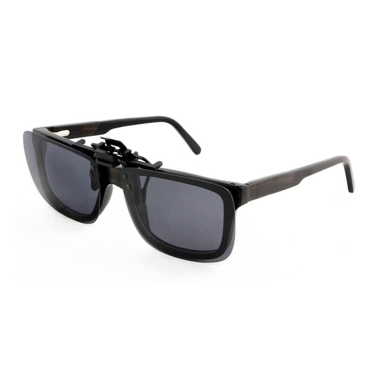01133297455bb ... custom logo with spring metal mirrored polarized lens tac clip on  sunglasses parts wood frame ...