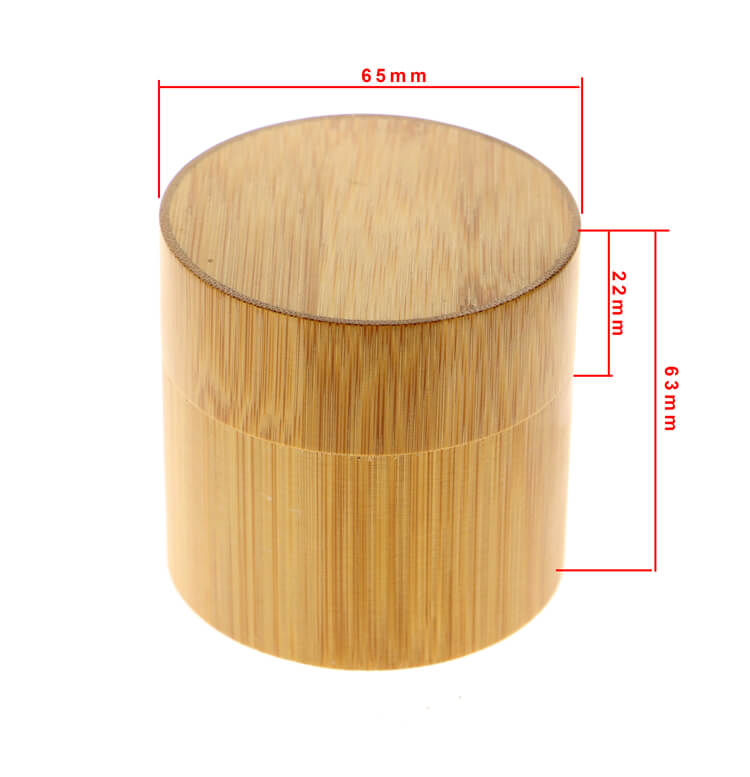round wood watch box personalized made with bamboo bby01 (6)