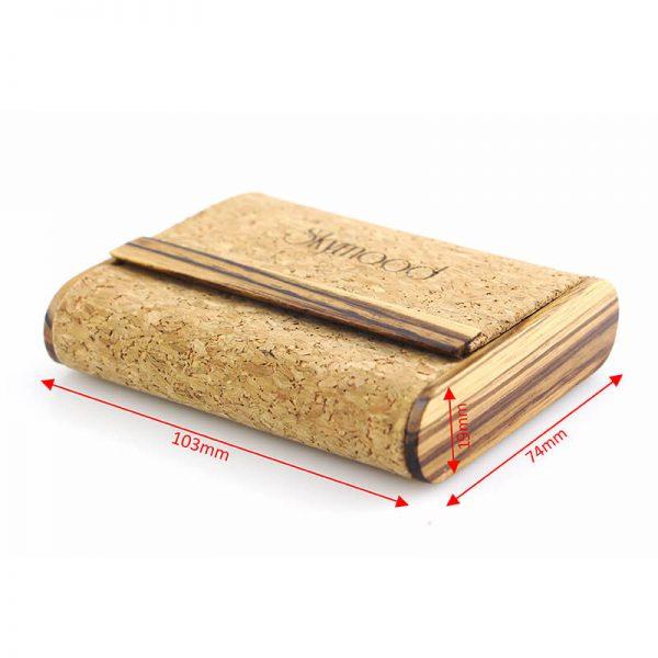 wood wallet minimalist size